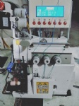 Semi-Automatic Glove Overlock Sewing Machine
